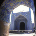 Mosquée de l'Imam : iwan