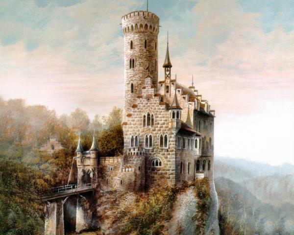 Tower Of White Kings, Magical Landscapes 2