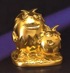 モリゾー&キッコロ純金フィギア