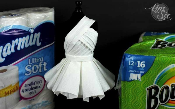 Charmin and bounty dress