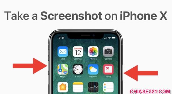 Cách chụp ảnh màn hình điện thoại iphone x