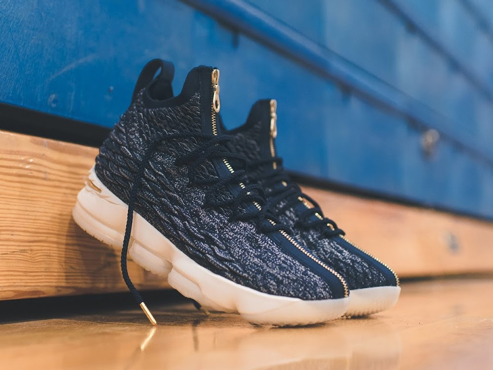 d60d1b1c6155 Kith and Nike Give Back Special LeBron 15s to Cardozo High School ...