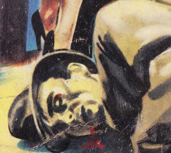 Couverture de polar / roman de gare vintage : J'veux mon blé (la môme