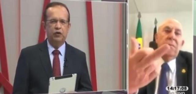 Ato desumano: Senador Ney Suassuna desrespeita colega Zé Maranhão que está na UTI e dá o dedo ao mesmo