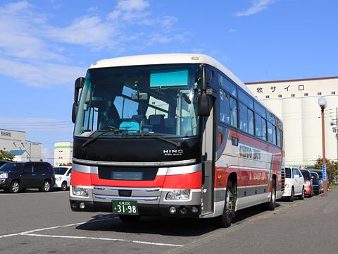 北海道中央バス「高速とまこまい号」 3198