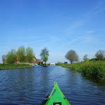 090-We paddelen naar het Ringwiel door de Ringwielgreft.
