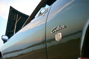 Toyota Celica TA20 TA22 Rear Quarter Emblem