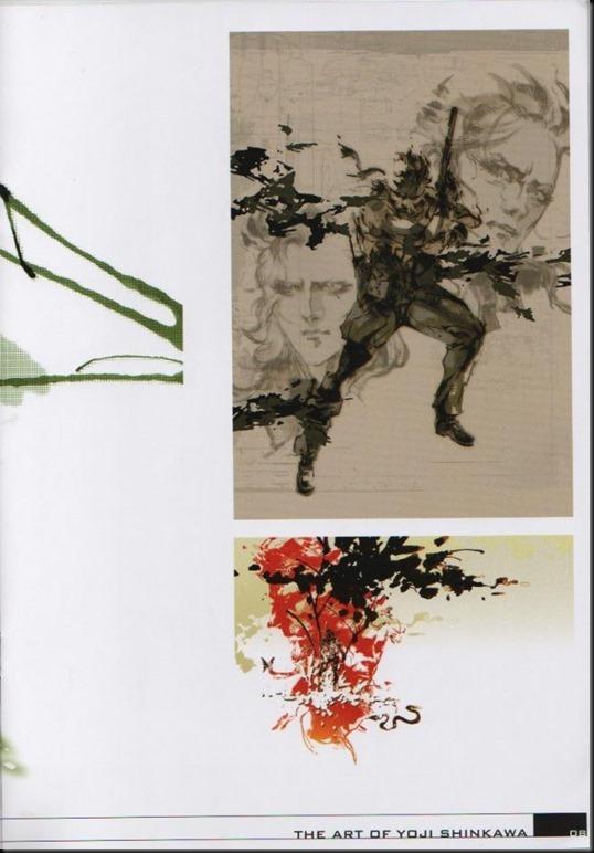 The Art of Yoji Shinkawa 1 - Metal Gear Solid, Metal Gear Solid 3, Metal Gear Solid 4, Peace Walker_802479-0012