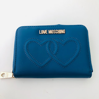 Love Moschino Linked Hearts Wallet