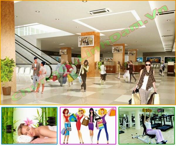 Trung tâm thương mại Chung cư Vp6 Linh Đàm