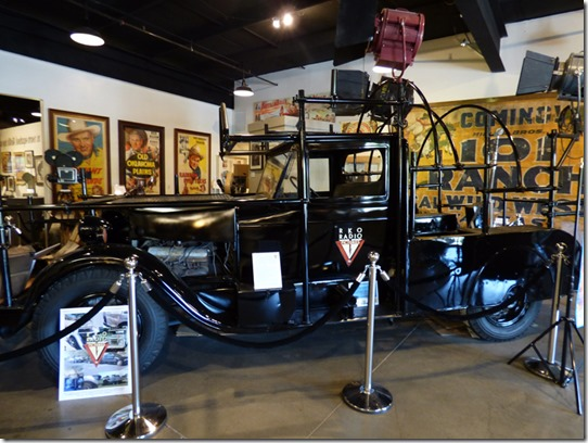 RKO Camera Truck, Museum of Western Film History, Lone Pine CA