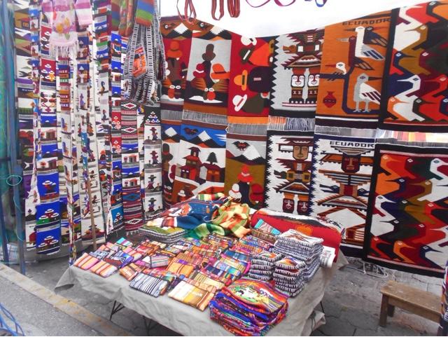 Otavalo Market stall