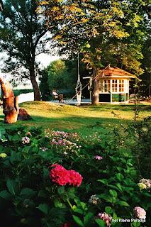 Het kleine Paradijs, theehuis en theetuin
