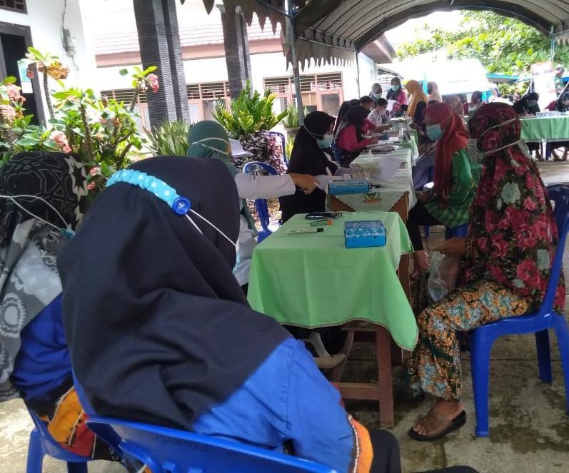 Warga Antusias Ikuti Donor Darah Di Penutupan TMMD Ke-110