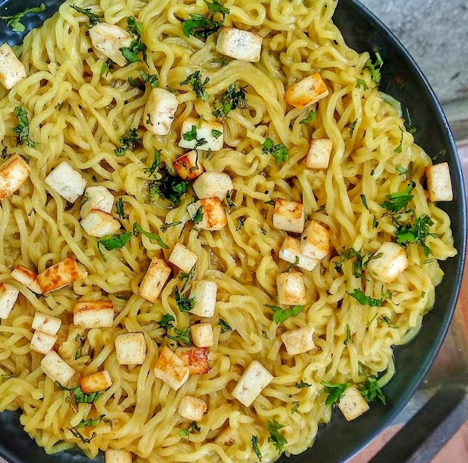 Paneer Maggi/ Paneer Noodles/ Cottage Cheese Maggi Recipe | Breakfast Care