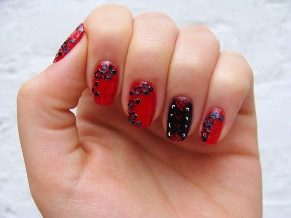 Red Nail Art Designs - Cute Nail Ideas for a Red Manicure 7