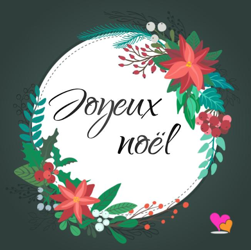 Belle Carte de Noël.. Filleule