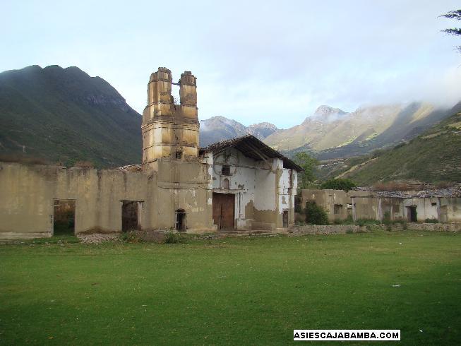 Ex hacienda Marcamachay - Cajabamba