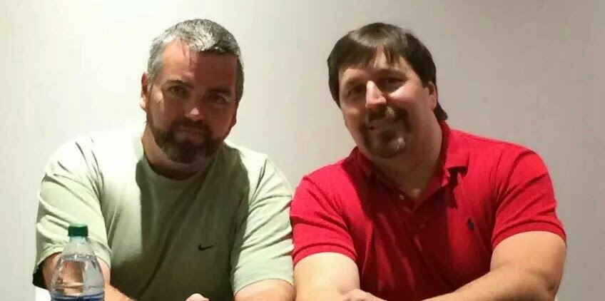 Franklin Brown and R.A. Salvatore