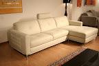 outlet divano in offerta a prezzo speciale modello Annabella in pelle