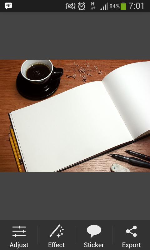 Membuat doodle art name picsay pro