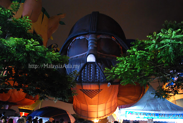 Darth Vader Hot Air Balloon Putrajaya