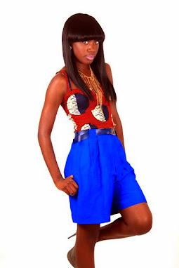 ankara styles, shorts