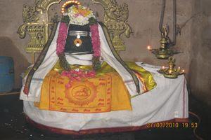 Thiruchemponpalli (Semponarkoil) Temple Main Deity Swarnapureeswarar