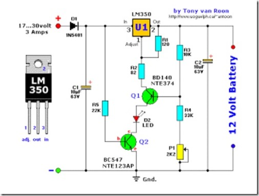 lead acid battery charger schematic diagram simple schematic rh simple schematic blogspot com lead acid battery schematic lead acid battery desulfator schematic