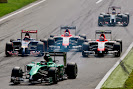 Start of the 2014 Italian F1 GP backfield