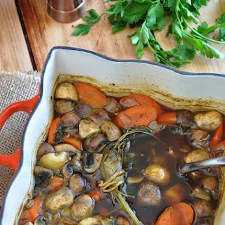 Vegan Beef (Irish) Stew.