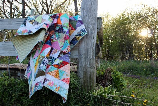 Caravan of Geese Quilt by Kim Lapacek