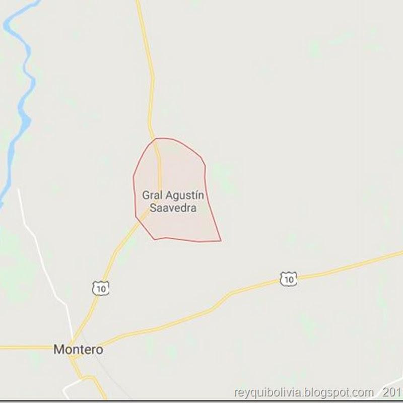 Agustín Saavedra: municipio cruceño (Bolivia)