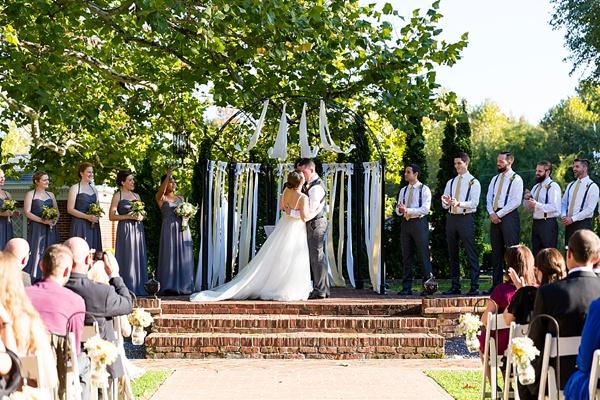 Sweet Historic Mankin Mansion Wedding