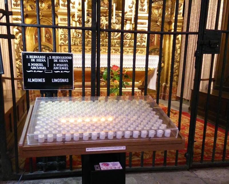 Inside La Catedral de Barcelona