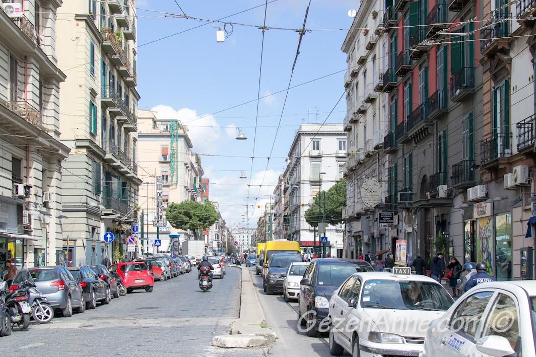 Napoli'de trafik