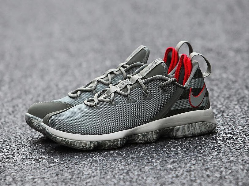 Get Up Close and Personal With Upcoming Nike LeBron 14 Low Olive ...