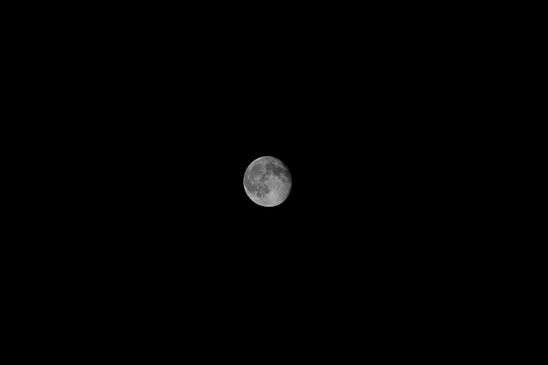 The moon in 2011/09/14.