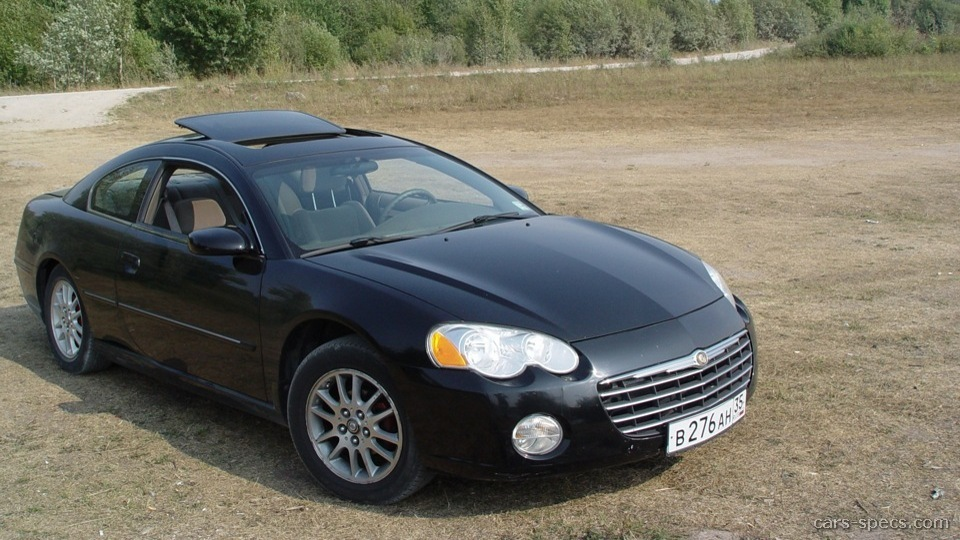 2004 chrysler sebring coupe specifications pictures prices. Black Bedroom Furniture Sets. Home Design Ideas