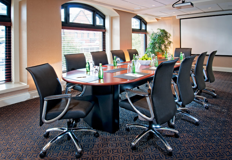 Photo: Chic meeting spaces from 10-35 persons at The Magnolia Hotel & Spa. The perfect venue for your small meeting or retreat.  http://www.magnoliahotel.com/meeting_packages.html