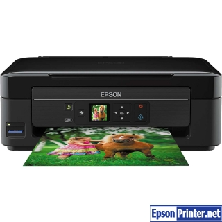 How to reset Epson XP-322 printer