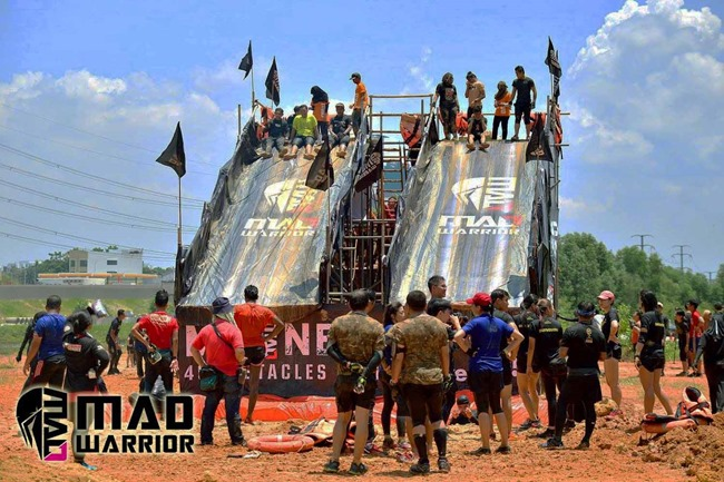last obstacles at mad warrior 2017