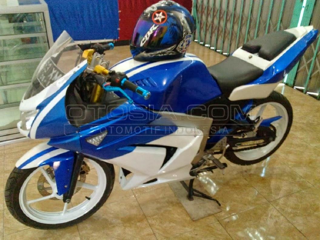 Modifikasi Striping Cb150r Putih Biru