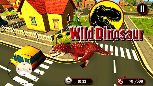 Wild Dinosaur Simulator 3D  captures d'écran 2