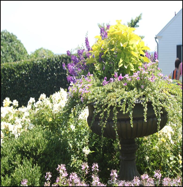 driveway border garden planter