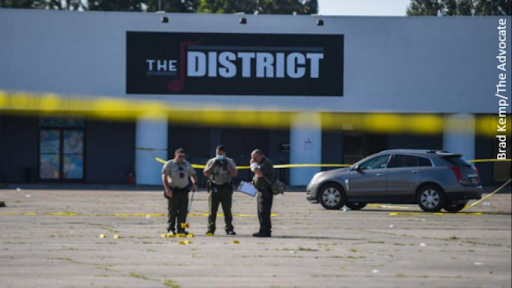 One dead in chaotic shootout involving police officer working security near Lafayette nightclub