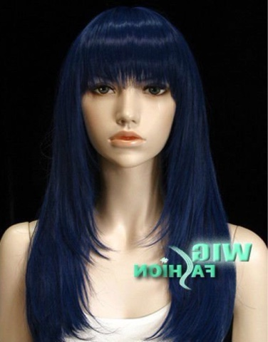 all hair makeover blue black grey hair colour