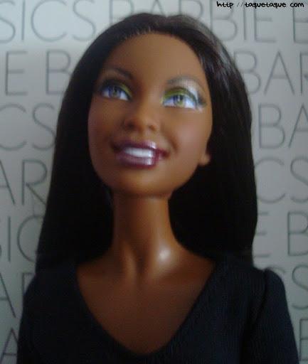 Barbie Basics LBD #10: otro primer plano de la carita