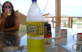 If you ever go drinking in Peru, they WILL tell you that Inca Kola was the only soda worldwide that Coca-Cola couldn't outmarket... it's still a national icon and a huge source of national pride (the Atlanta boys eventually just gave up and bought the rights for $200 million)