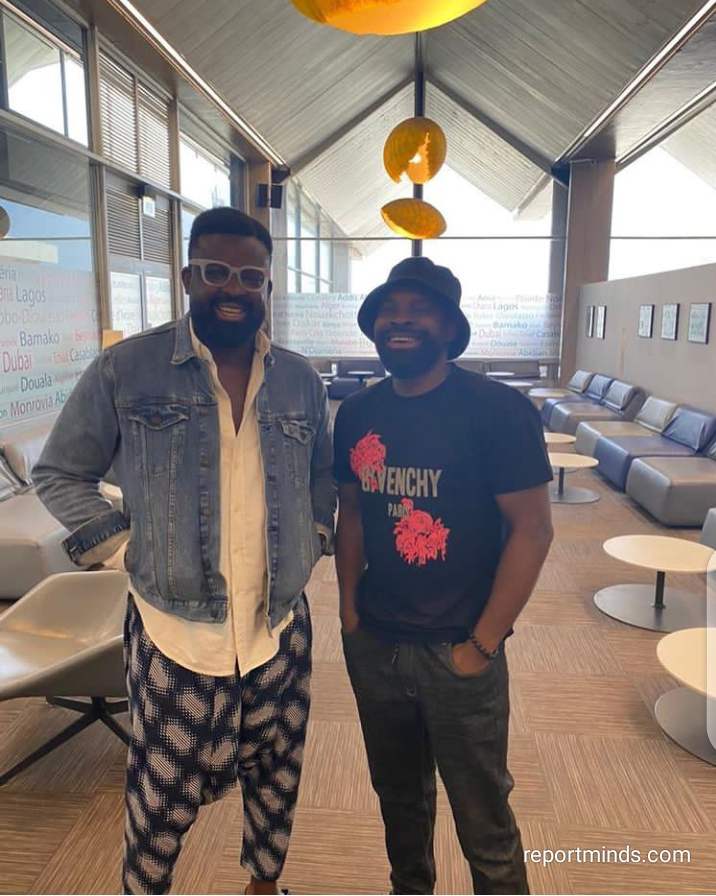 Kunle Afolayan enjoys picnic with his younger brother Gabriel Afolayan